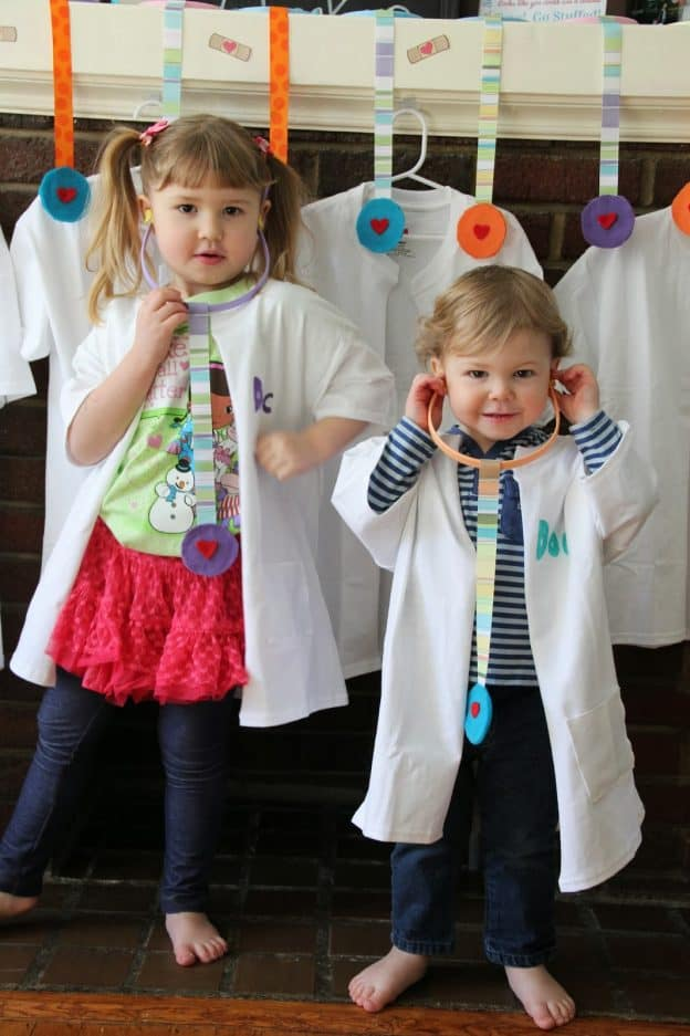 How to Make Toy Stethoscopes