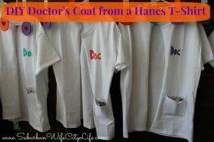 DIY Doctor's Coat