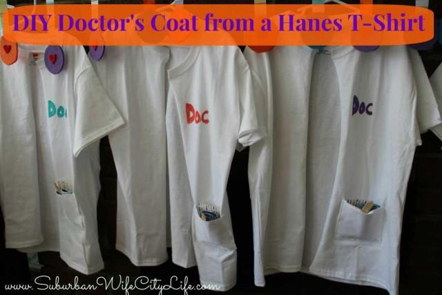 DIY Doctor coat