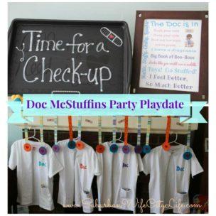 Doc McStuffins Party Playdate