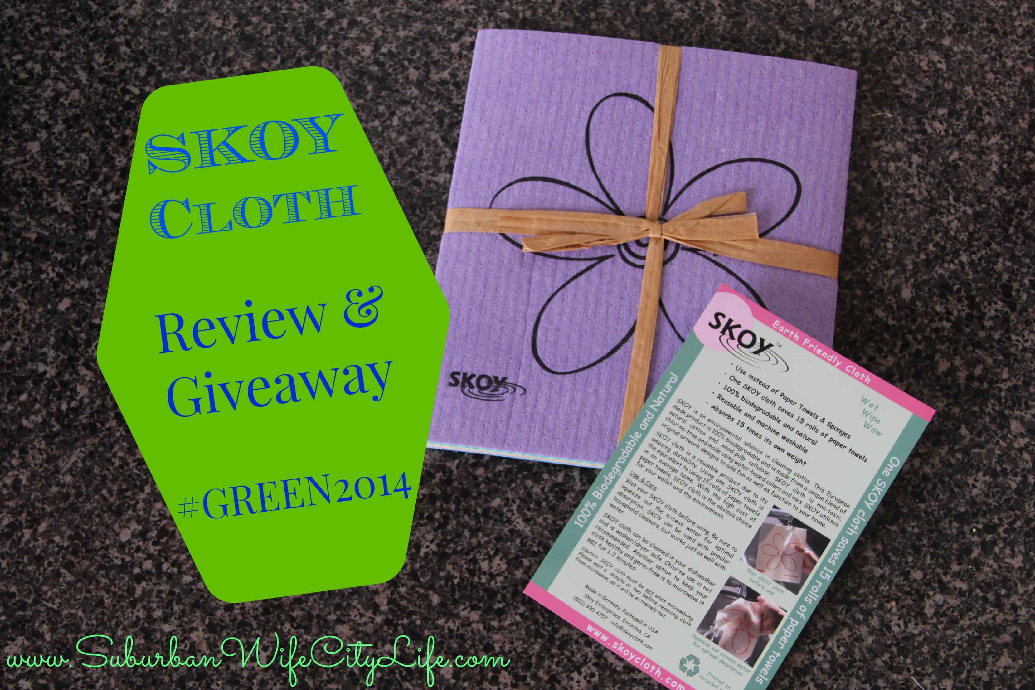 SKOY Cloth Review & Giveaway