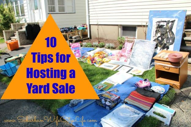 10 Tips for hosting a yard sale