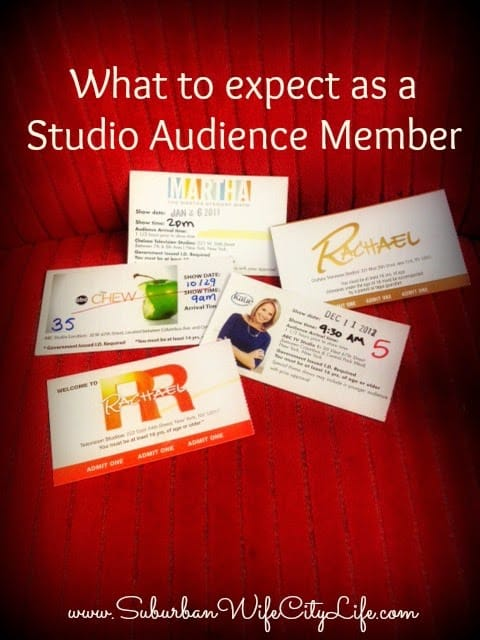 What to expect as a Studio Audience Member