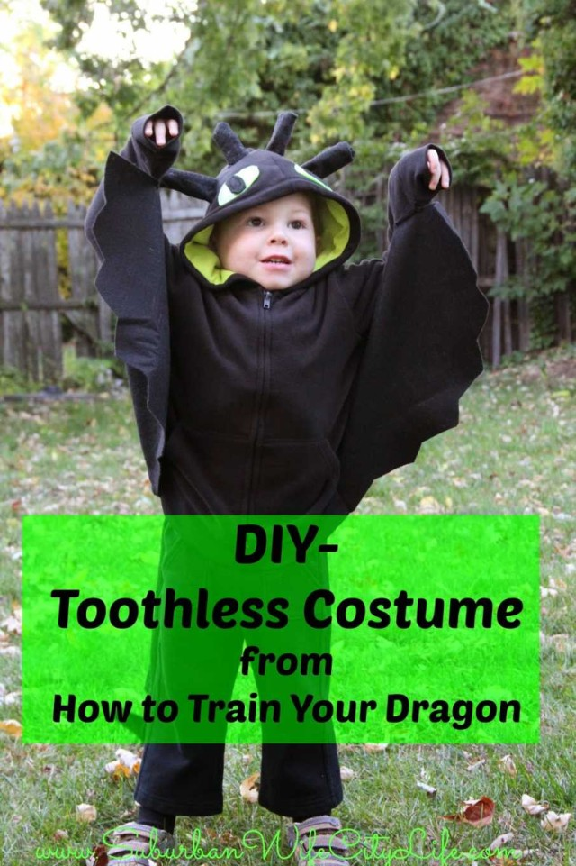DIY- Toothless Costume