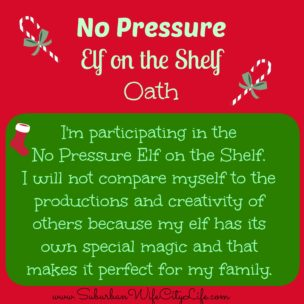 No Pressure Elf on the Shelf Oath