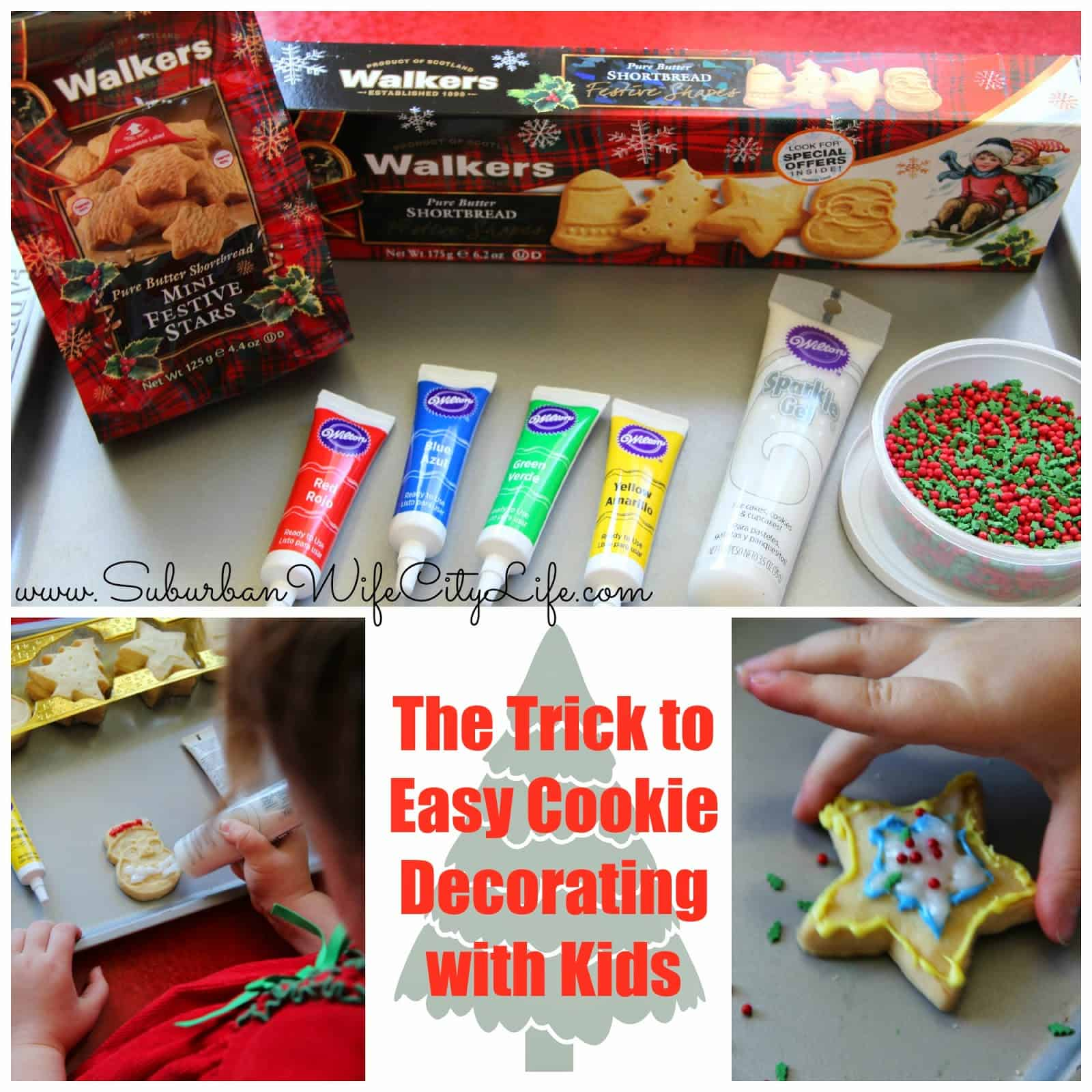 The Trick to Easy Cookie Decorating with Kids