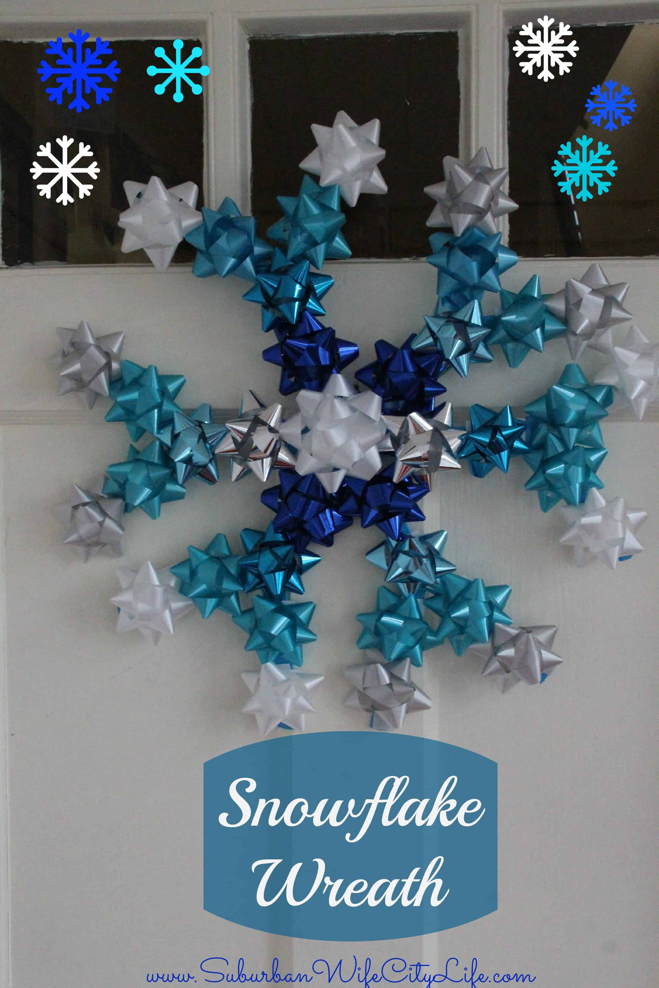 DIY- Snowflake Wreath