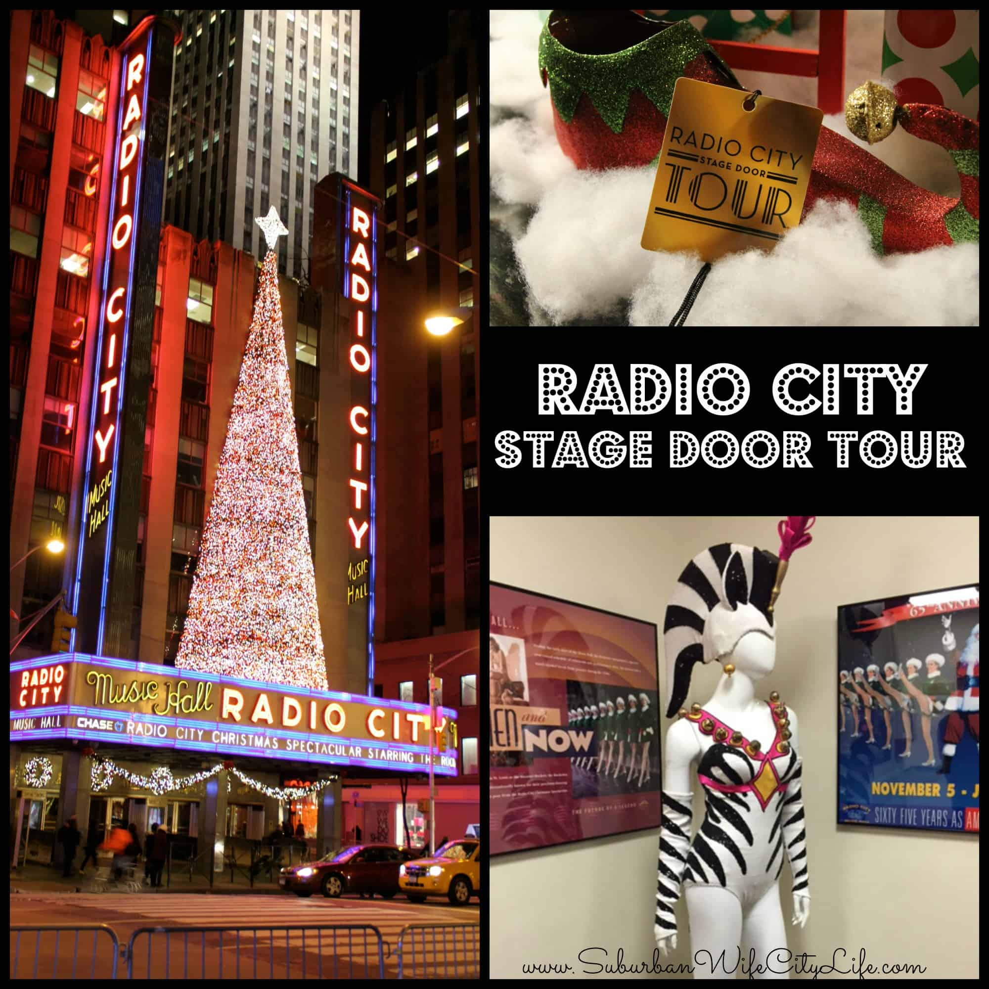 Radio City Music Hall Stage Door Tour