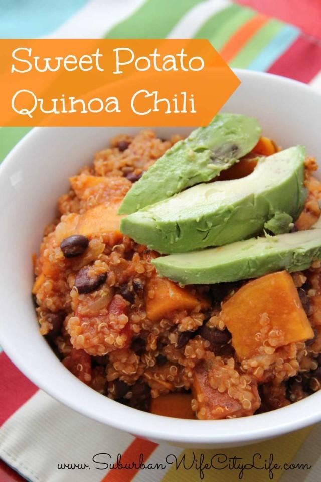 Sweet Potatoe Quinoa Chili
