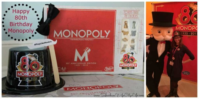 Monopoly 80th Birthday cover