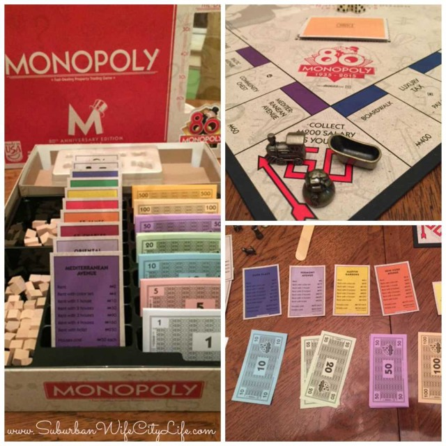 80th Monopoly board