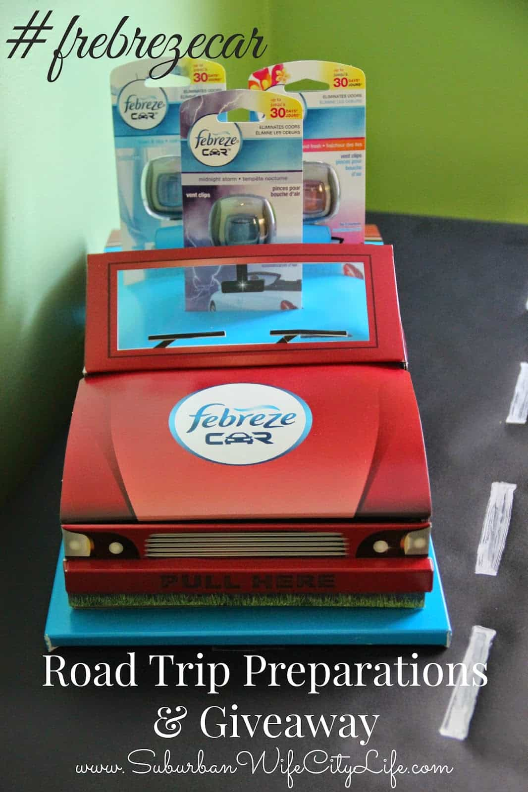 Febreze Car Road Trip Preparations & Giveaway