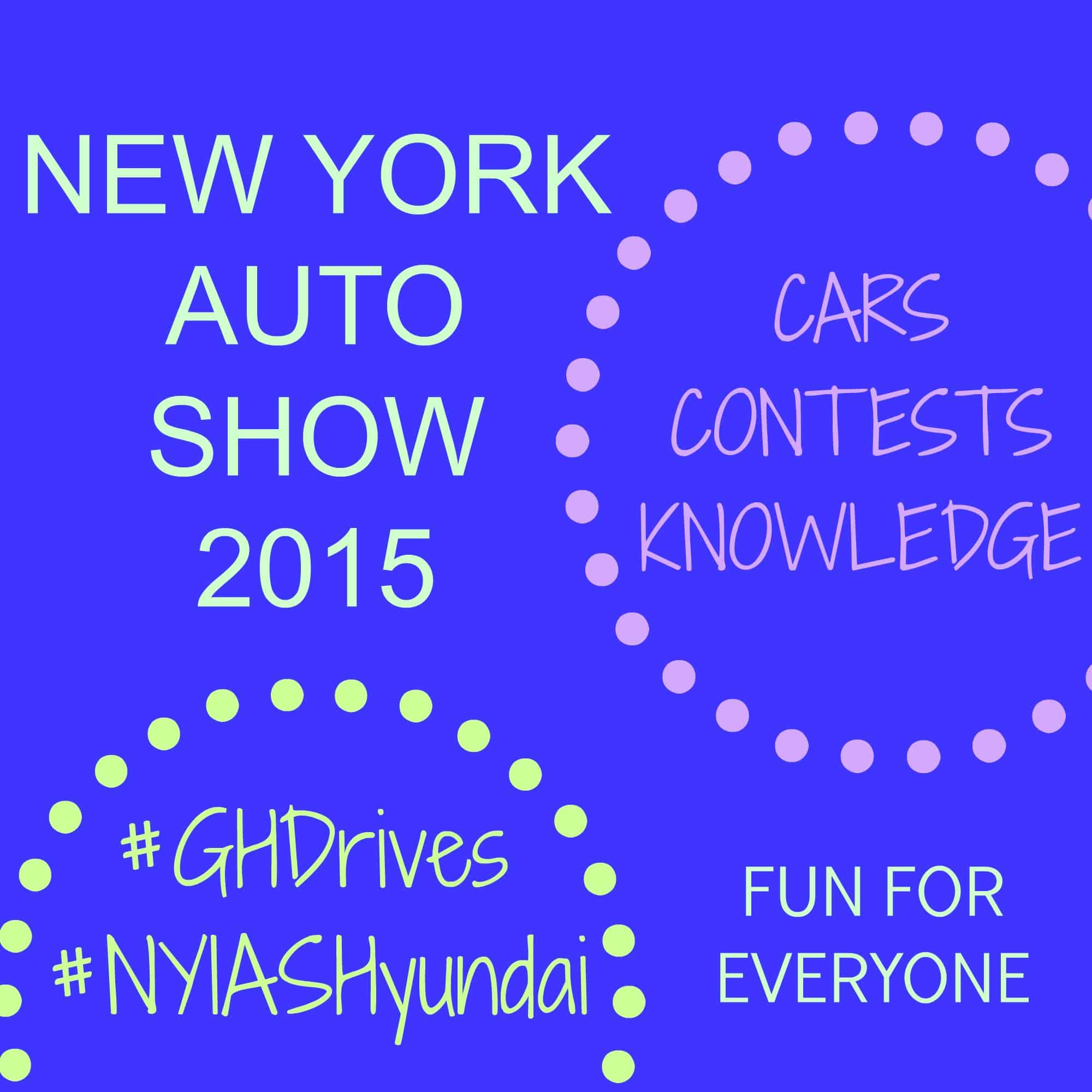 Hyundai & Good Housekeeping Contest at the New York Auto Show