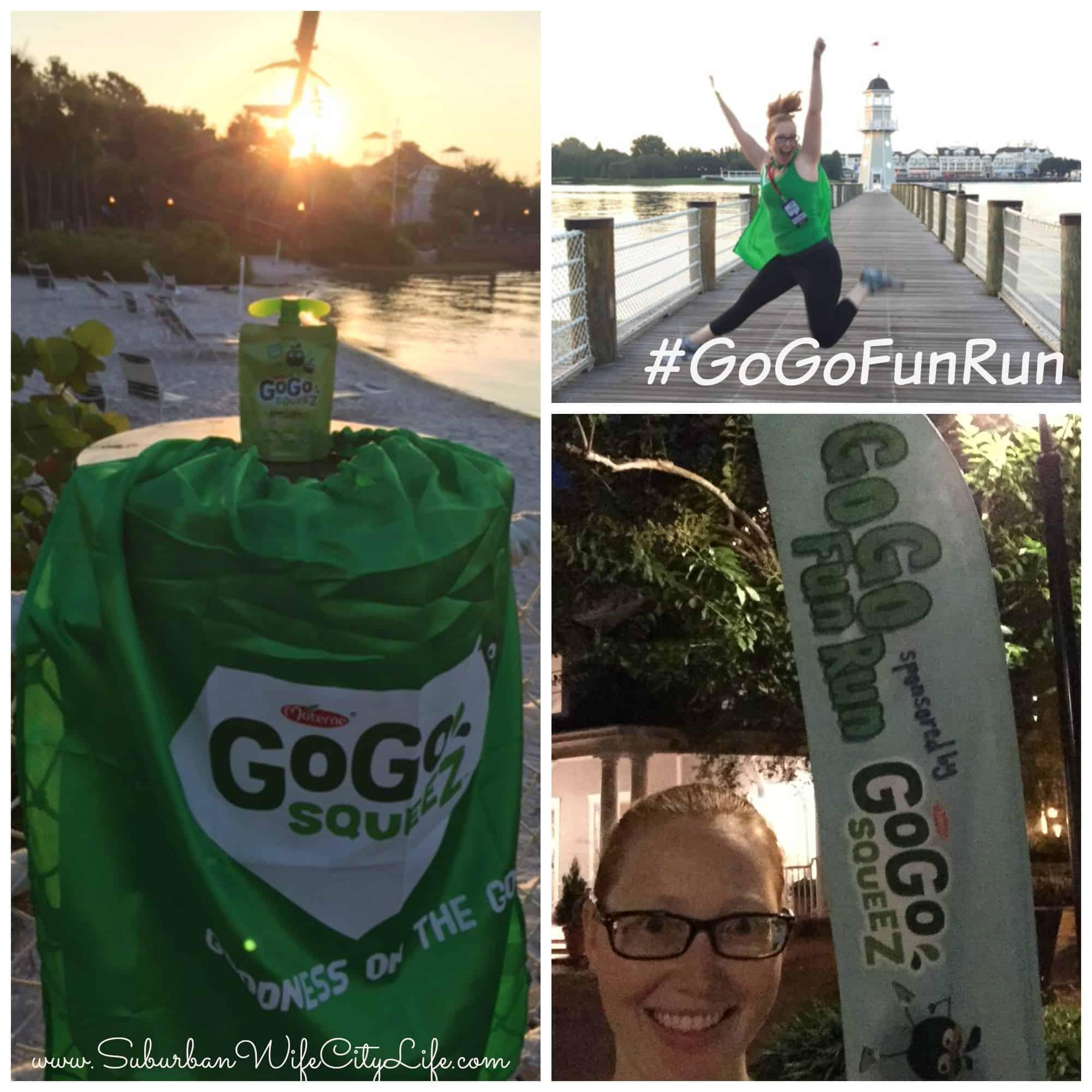 Fun Run with GoGoSqueez at Epcot