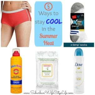 Ways to stay cool in the heat