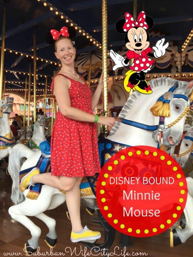 Disney Bound Minnie dress from Kohls