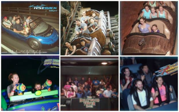 Disney Memory Maker Ride shots