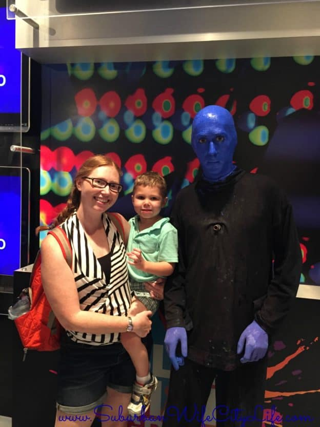 Universal Orlando-Blue Man Group