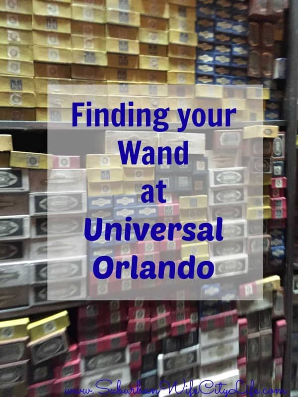 Finding your Wand at Universal Orlando