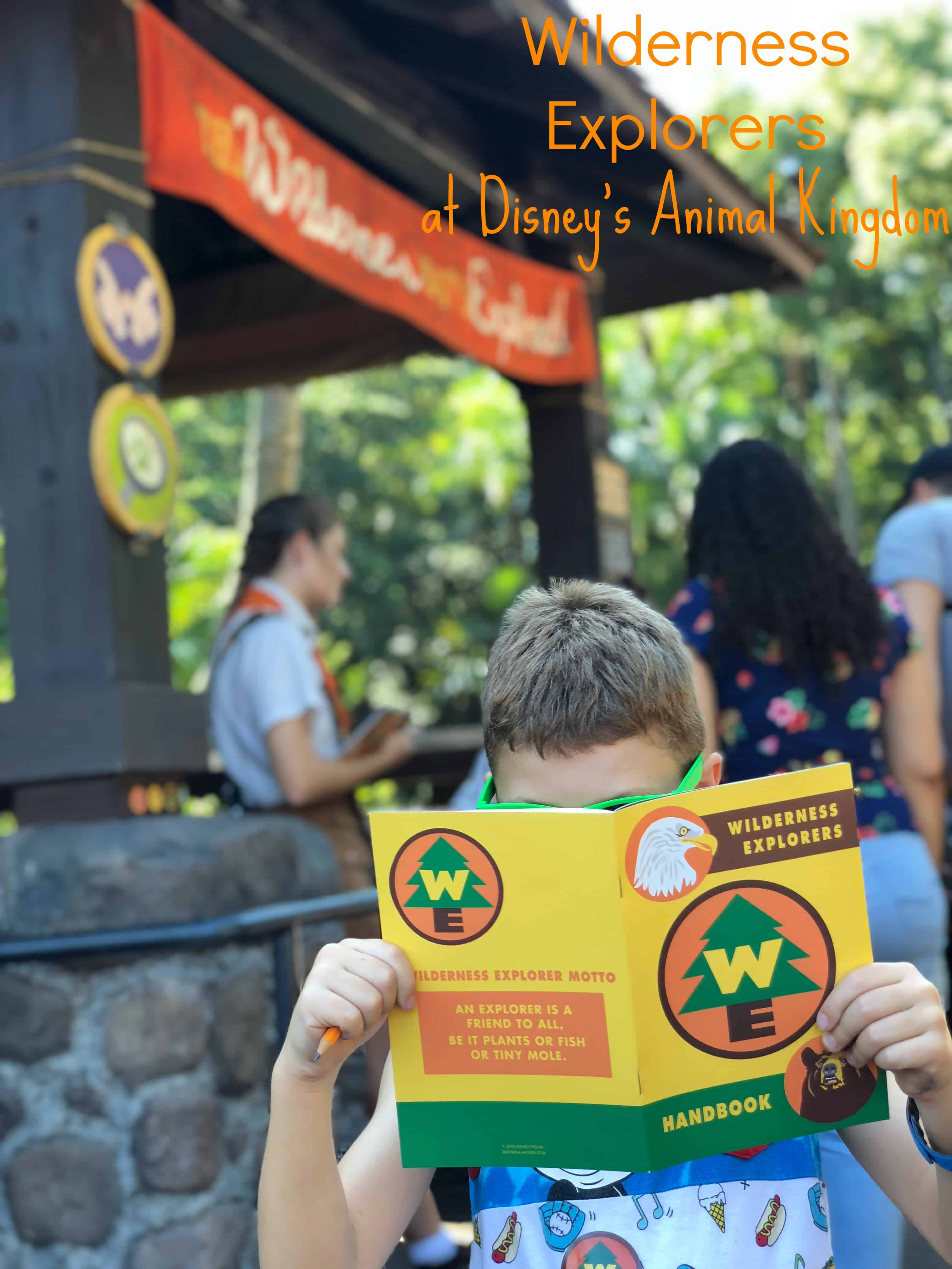 Wilderness Explorers at Disney's Animal Kingdom