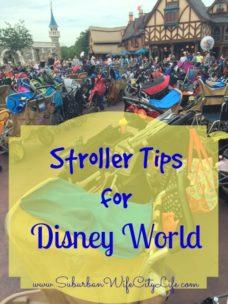 Stroller Tips for Disney World