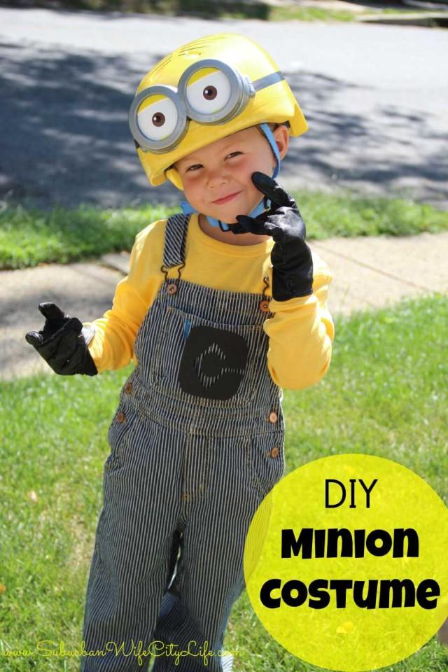 DIY Minion Costume Cam
