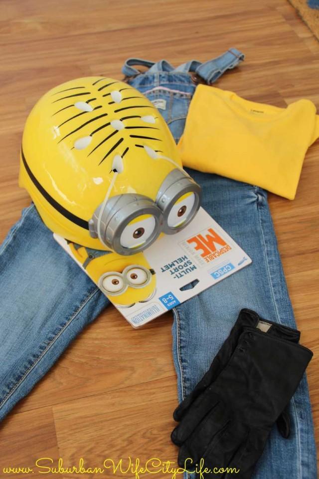 Minion Costume supplies