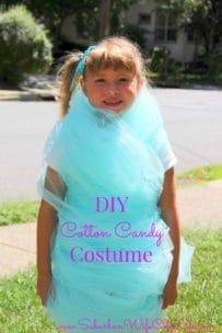 DIY Cotton Candy Costume