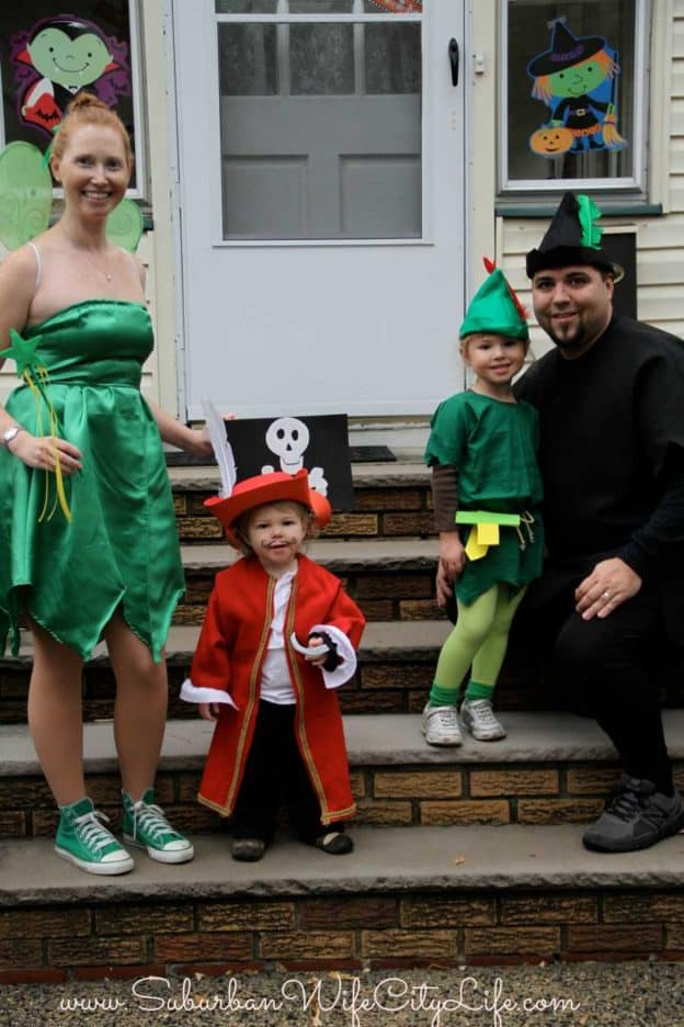 Family Peter Pan Costume