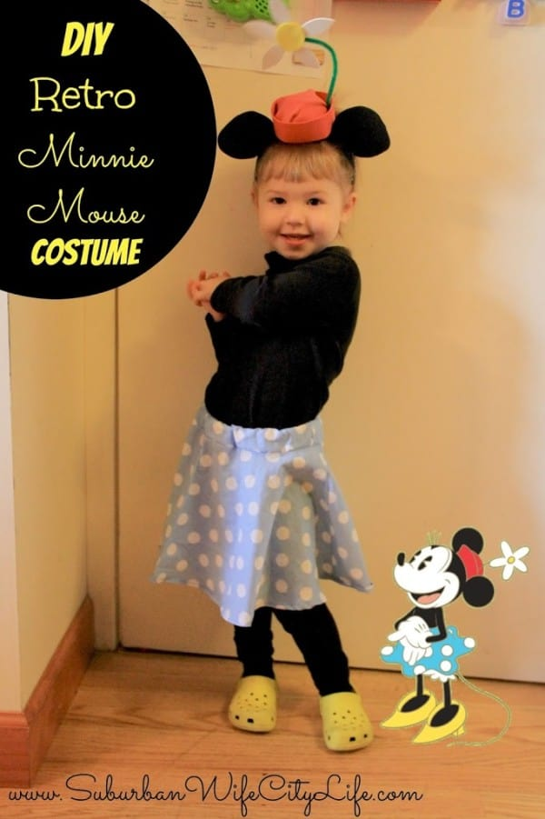 DIY- Retro Minnie Mouse Costume