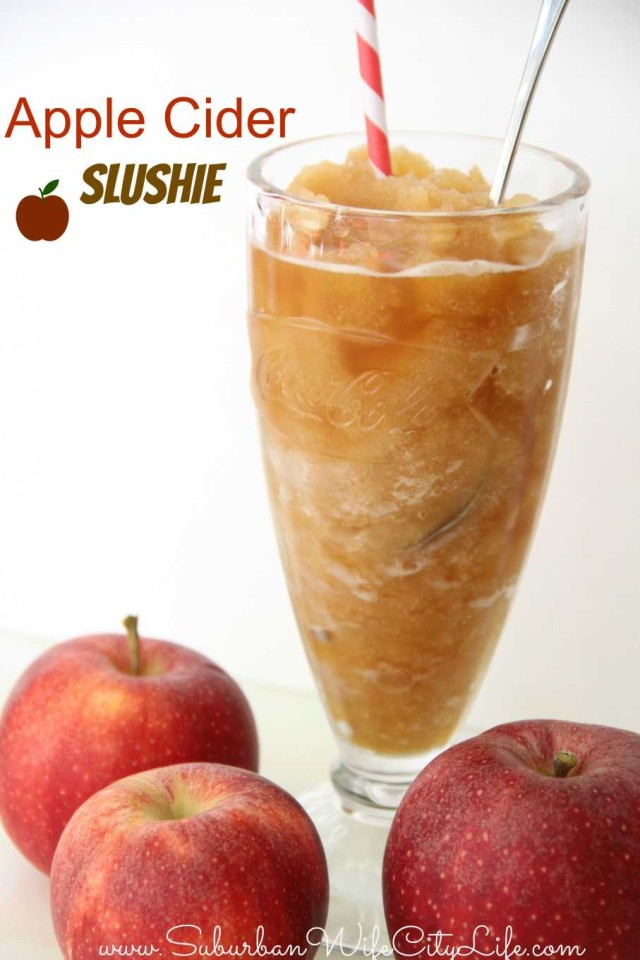 Apple Cider Slushy