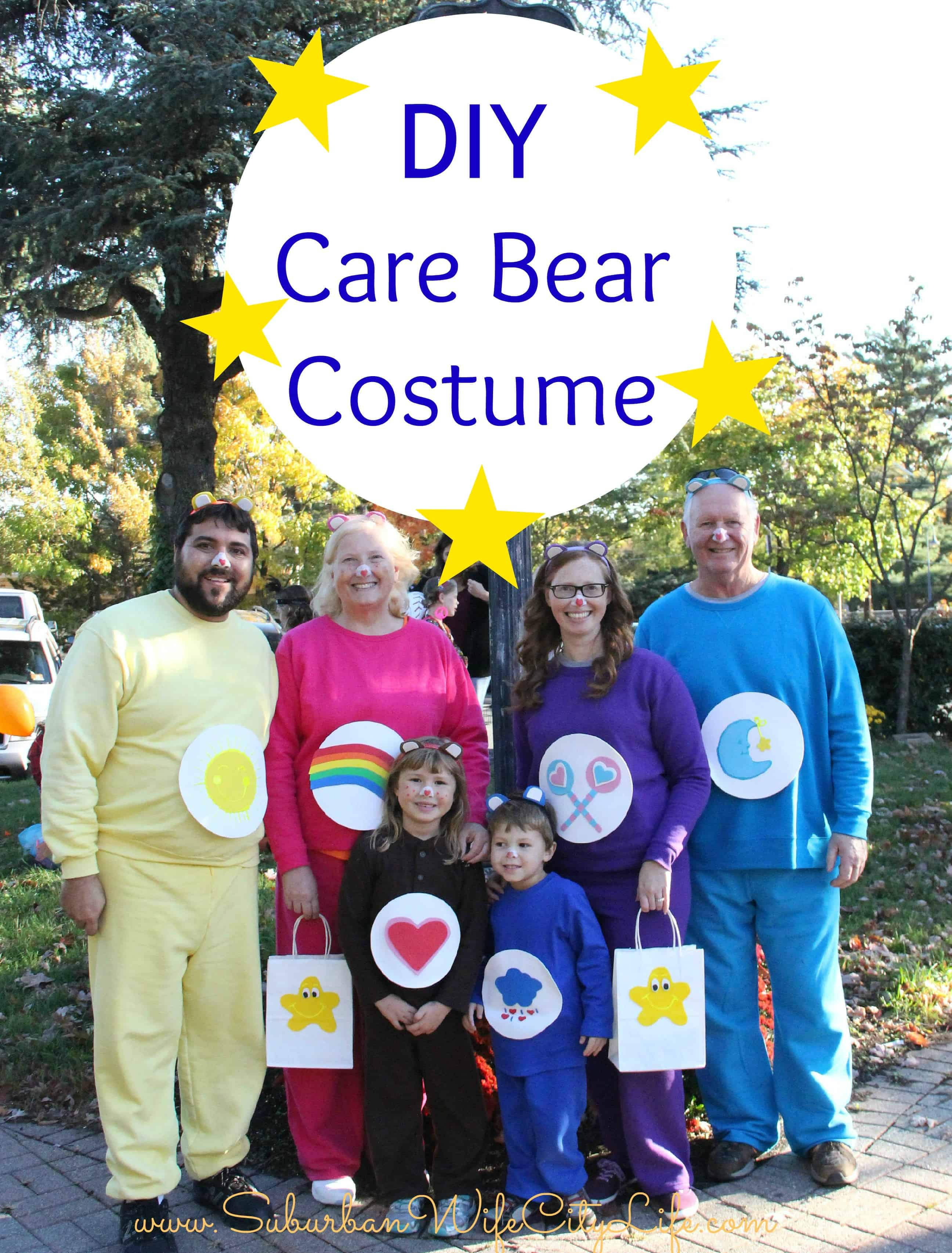 DIY Care Bear Costume