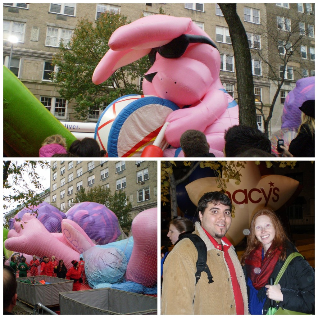 Balloon Blow up for Macy's Parade