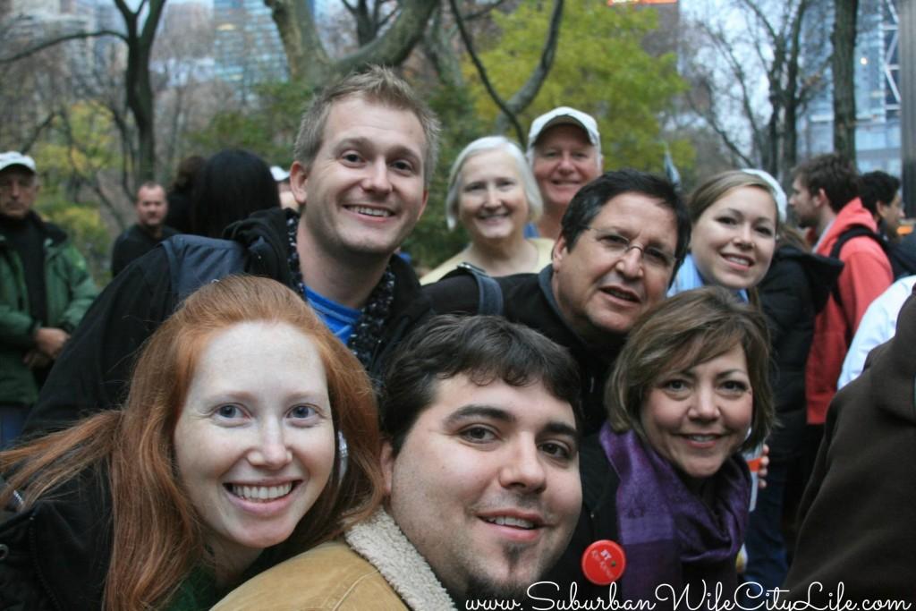 Thanksgiving Parade family shot