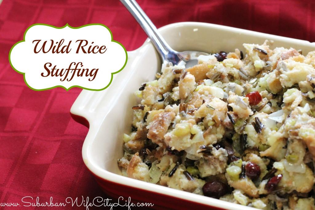 Wild Rice Stuffing