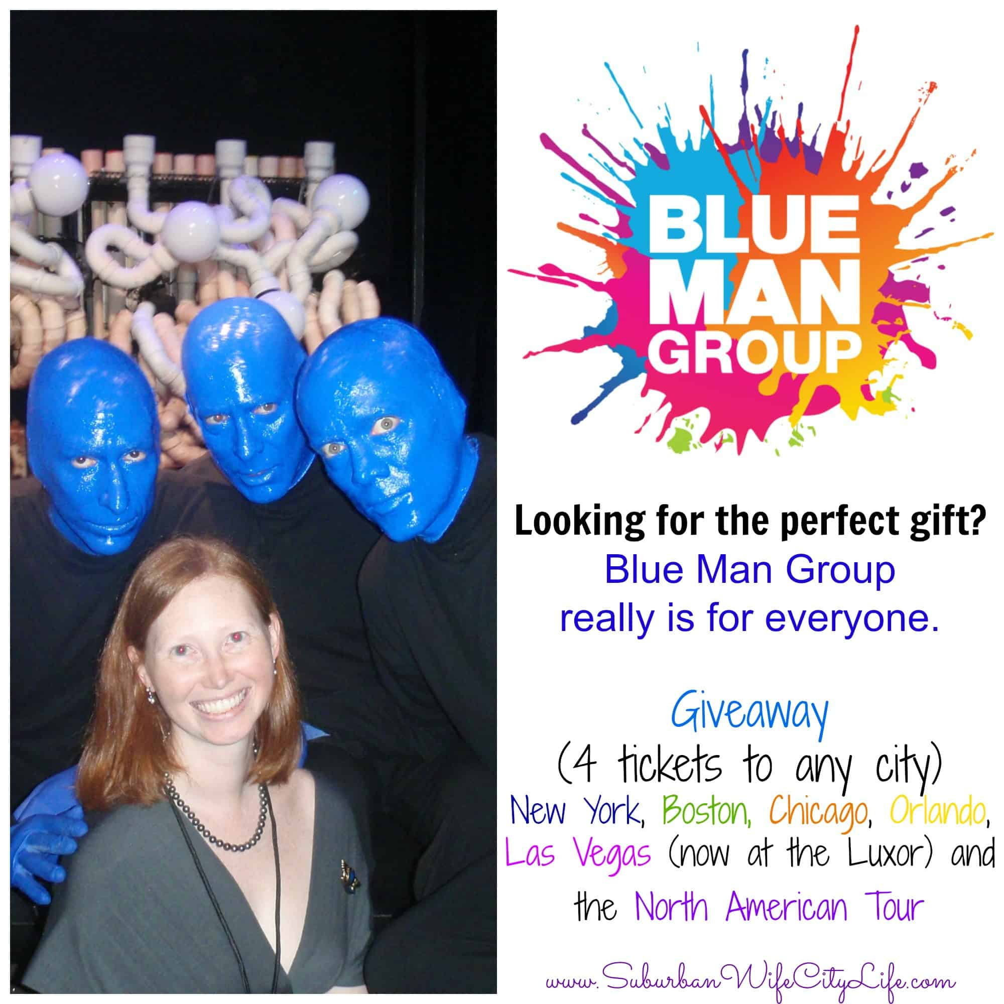 Give the Gift of Blue Man Group