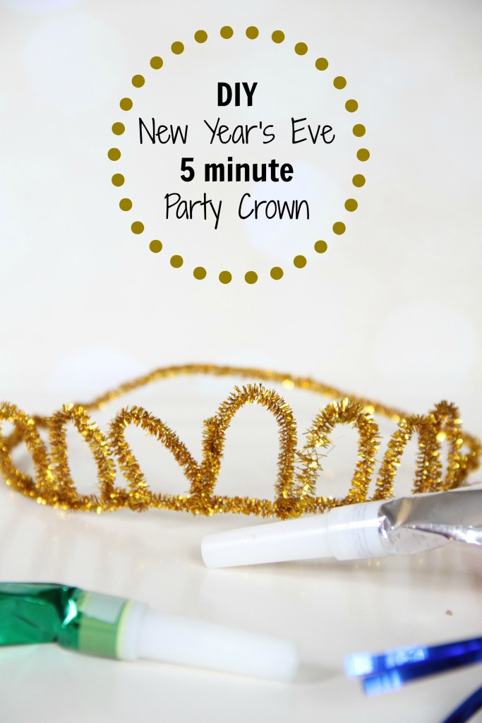 DIY New Year's Eve Party Crown