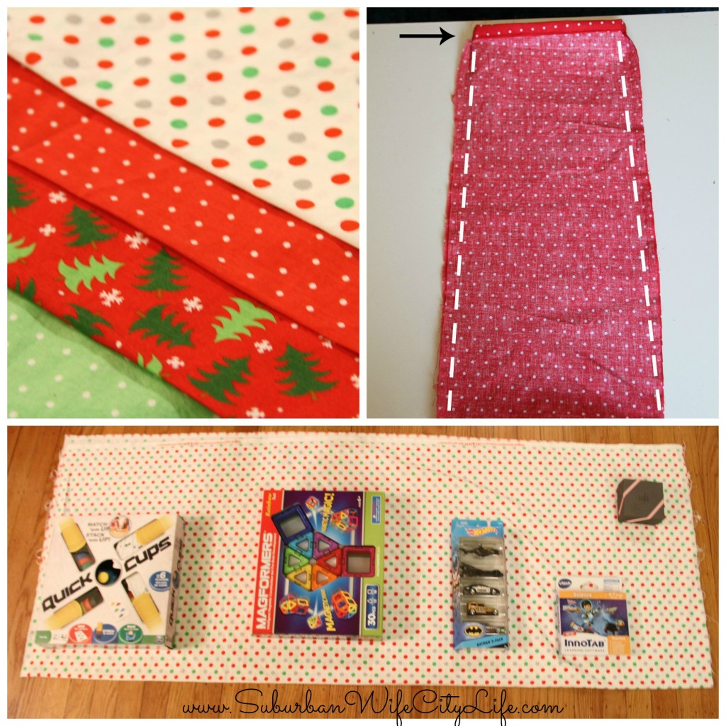 Fabric Gift Bags steps