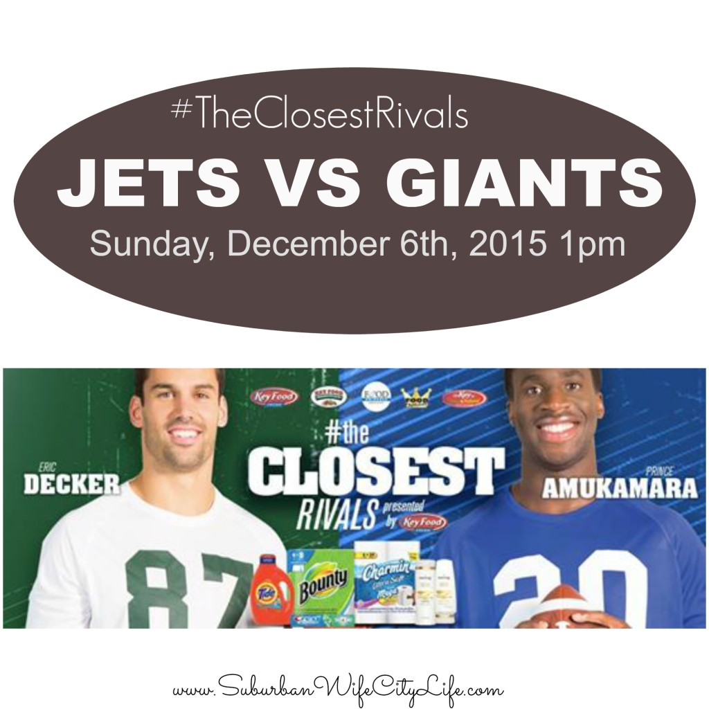 #TheClosestRivals Jets vs. Giants