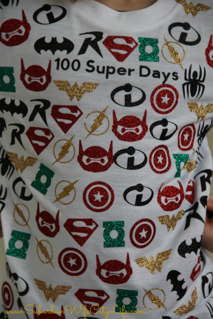 100 Super Days Tshirt