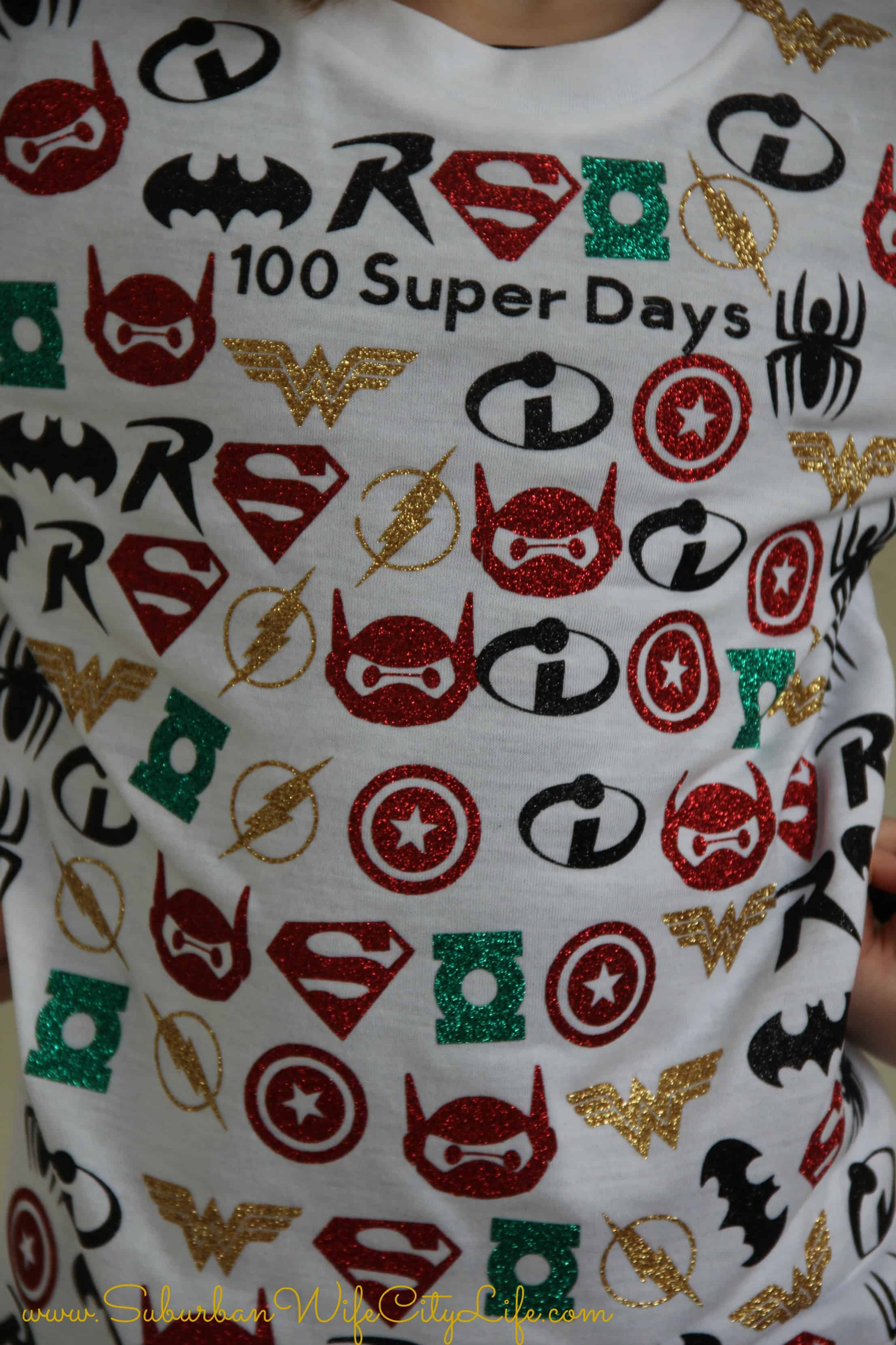 100 Super Days Shirt