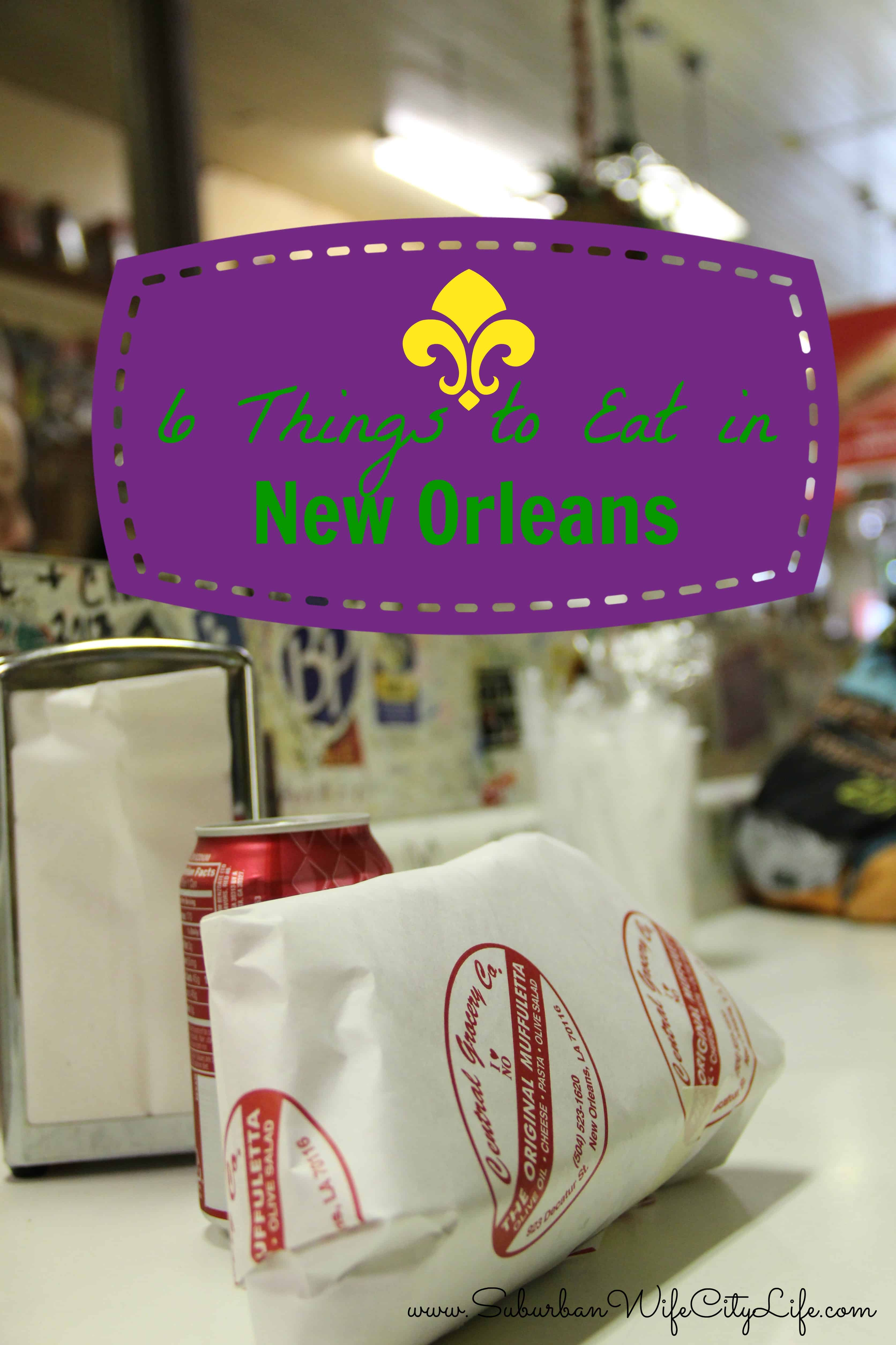 What and Where to Eat in New Orleans