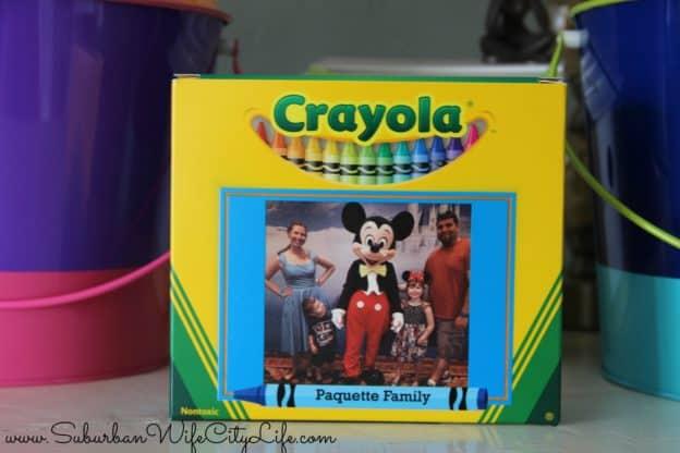Crayola Disney photo crayons