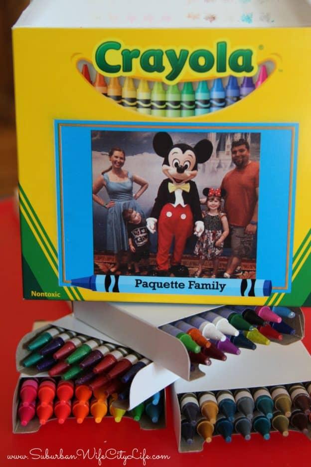 """Crayola personalized crayon boxes"""