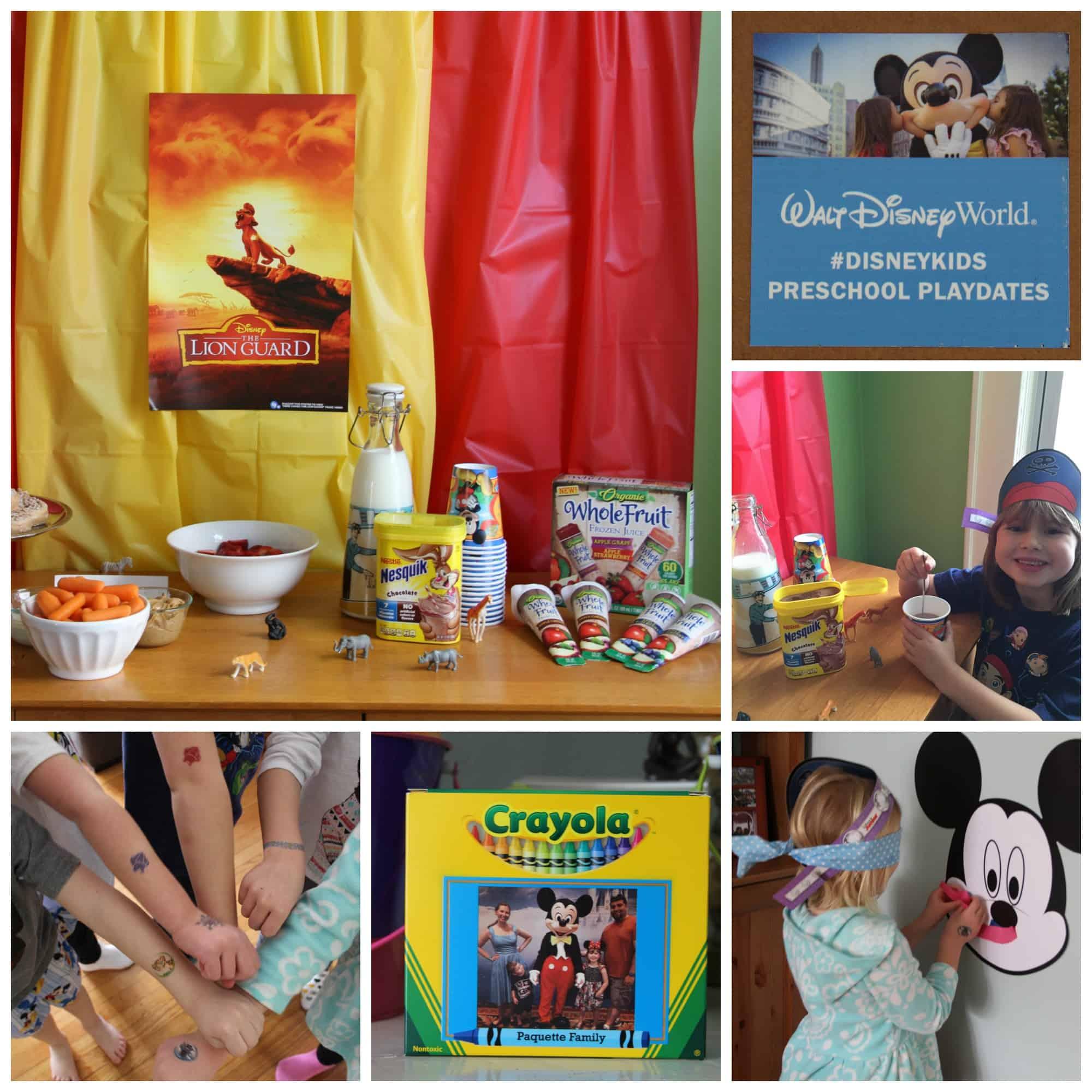 Disney Kids Healthy Preschool Playdate