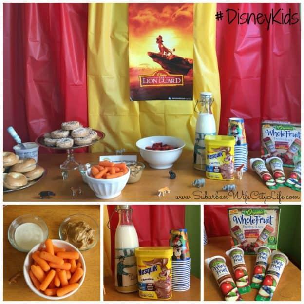 #DisneyKids Preschool Play date healthy foods