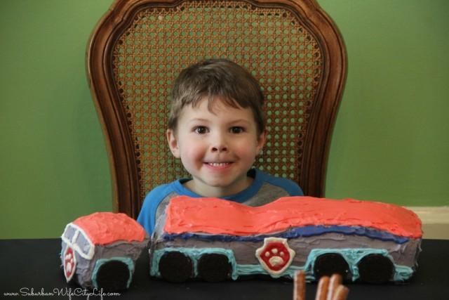 Happy Birthday Paw Patroller Cake