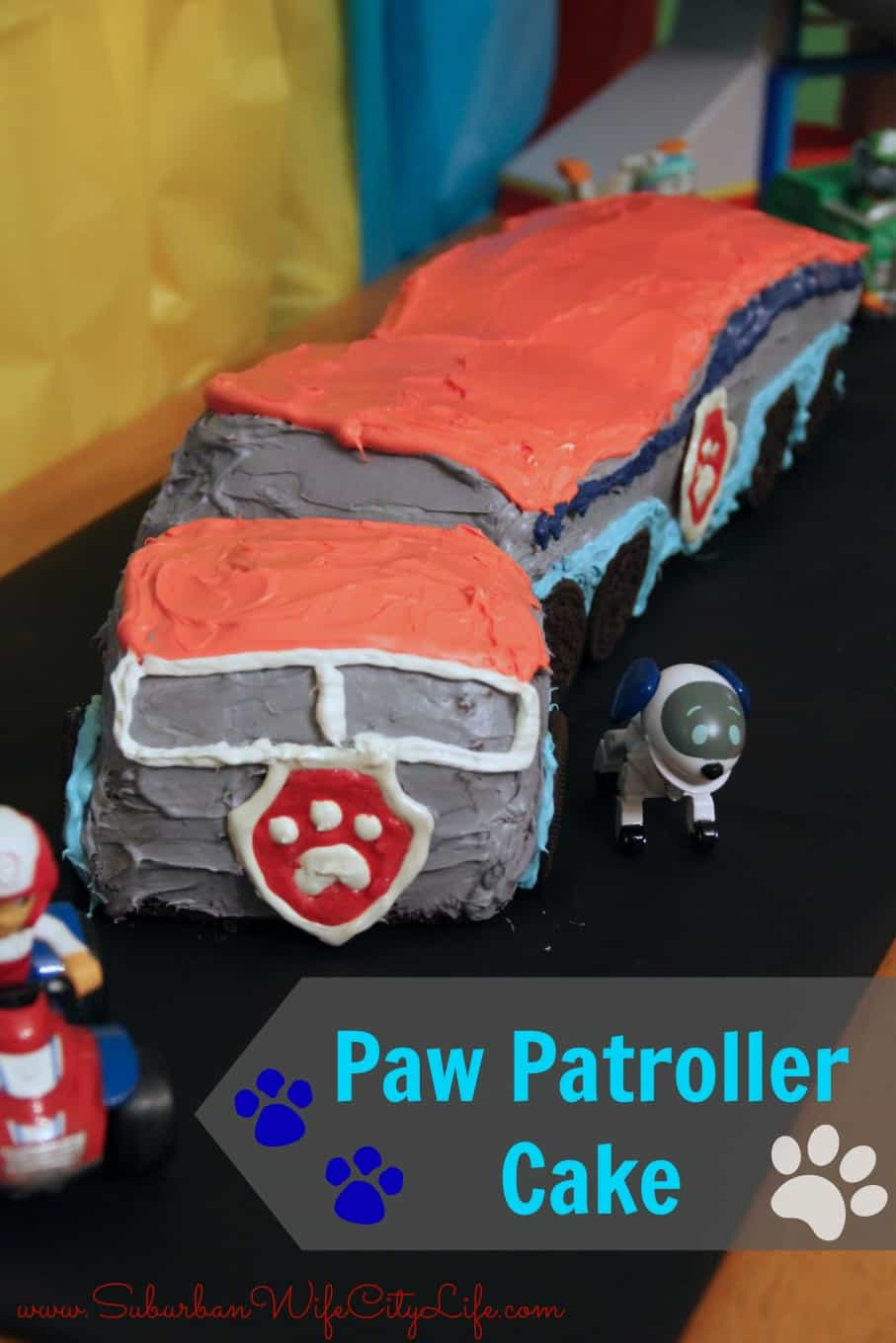 Diy Paw Patroller Cake Suburban Wife City Life