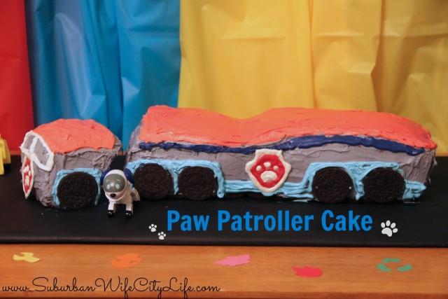 """""""Paw Patroller DIY cake"""""""