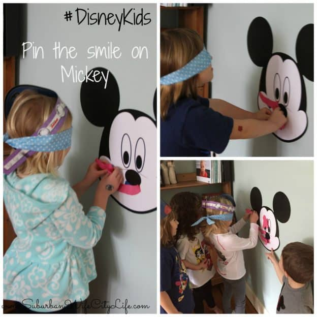 Pin the smile on Mickey